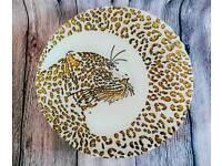 New Leopard Print Ornamental Glass Bowl