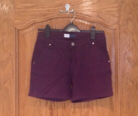 Purple Shorts Size 42 (UK 8-10) Marfinno brand