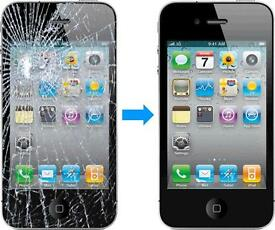 Apple Iphone Screen & Battery Replacement GLENROTHES 5 5s 6 6s Plus 7 7 Plus