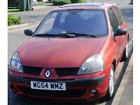 RENAULT CLIO 2005 3 DR MANUAL 1.2 PETROL CHEAP INSURANCE LOW MILEAGE