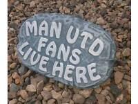 Football plaque ornaments