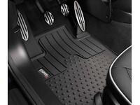 Mini Cooper S car mats.