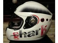 SHARK Helmet (Small) rarely used beautiful condition *Pillion Passenger use*