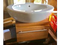 Vanity unit and sink