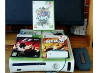 Xbox 360 console with bundle good condition