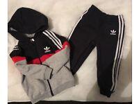 Baby boys Adidas jogging suit