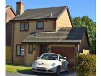 TO RENT - 3 BED DETACHED, GARAGE, LLANELLI