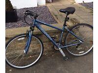 Woman's Carrera bike + accessories (£100)