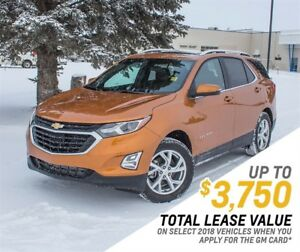 2018 Chevrolet Equinox LT Turbo AWD w/2LT *Heated Seats *USB Por