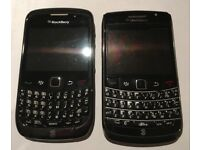Blackberry phones Curve/Bold