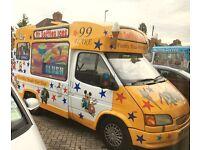 Ice cream van catering
