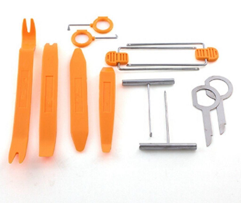 12 Car Plastic Panel Audio Pry Kit Door Trim Removal Install Tools Kit Set