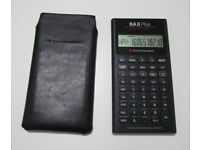 Texas Instruments BA II Plus Professional, Advanced Business Analyst financial calculator