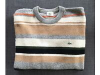 9 Mens Designer sweaters / zippers Lacoste Bugatti Ralph Lauren Tommy Hilfiger New Like New and Used