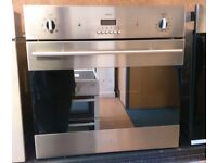 Baumatic B187SSB Fan Assisted Single Electric Oven In Stainless Steel