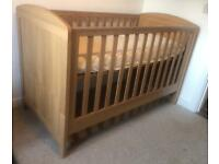 Mothercare Cot cum bed 4 in 1