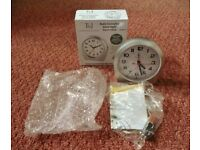 Tavistock & Jones Radio Controlled Silent Night Alarm Clock EL6610 with 1 X AA Battery