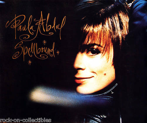 Paula Abdul 1991 Spellbound Rare Original Promo Poster
