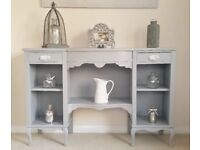 Grey Wooden Sideboard
