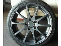5 stud German fitment alloys 5 x 112 fitment