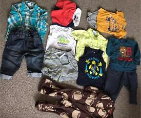 Clothing bundle size 12 months