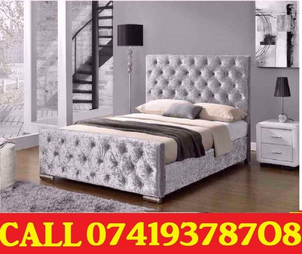Amazing Offer CRUSH VELVET SINGLE DOUBLE KING SIZE MEMORY FOAM DESIGNERBeddingin Worcester Park, LondonGumtree - SALE SALE SALE....EXTREME Quality Furniture like Divan and Leather Base available contact us