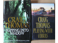 Craig Thomas hardback books