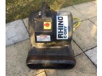 Rhino carpet dryer blower ideal for carpet cleaning