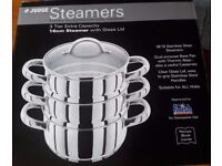 JUDGE Stainless Steel Steamers - NEW !!!