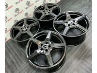"""GENUINE MERCEDES 19"""" AMG CLS ALLOY WHEELS - AVAILABLE WITH TYRES - 5 X 112 - SHADOW CHROME"""