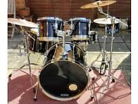 Tama Superstar drum kit 5 piece with hardware