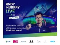 Andy Murray Live at the Hydro