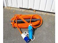 Electric Caravan /Motorhome Hook-up Cable