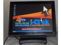 New J2-680 POS Terminal 15' TouchScreen System Epos J2680 Bezel Free Elo Touch