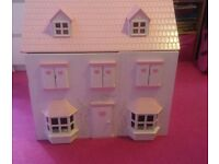 DOLLS HOUSE & FURNITURE BARGAIN (37 pieces)