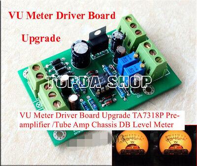 Vu Meter Driver Board Upgrade Ta7318p Pre-amplifier Tube Amp Db Level Meter