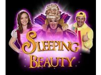 6 x Pantomime tickets for Sleeping Beauty at Weymouth Pavilion on New Years Day