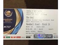 ICC Champions trophy tickets