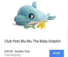 Lucy the Dolphin Toy