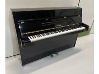 Yamaha Eterna Black High Gloss Upright Piano - Warranty - Delivery