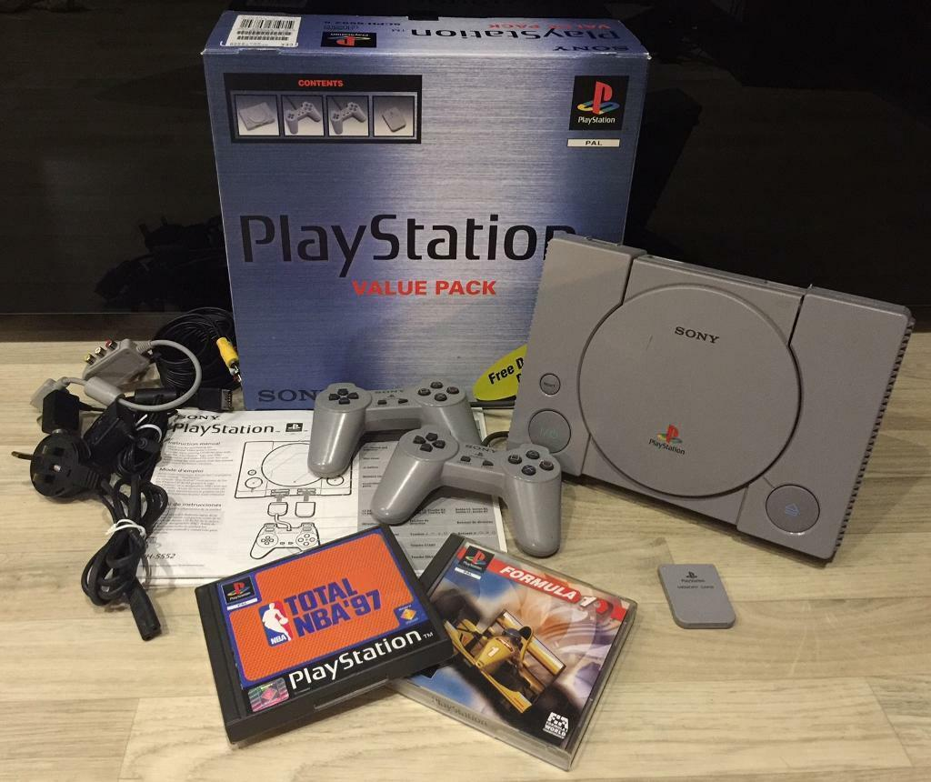 how to set up a playstation 1