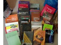 21 (Different) Undergraduate level textbooks