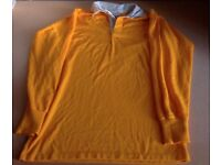 Yellow rugby shirt