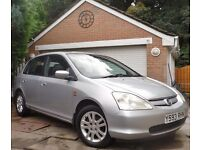 2001 HONDA CIVIC SE EXECUTIVE***F,S,H***£850***