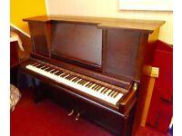 Squire Upright Piano in Dark Oak Case