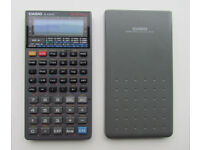 Casio fx-6300g graphing scientific programmable calculator + sliding cover + manual