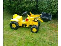 Rolly Toys Tractor with front loader
