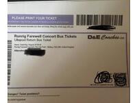 DE Coach ticket to Runrig