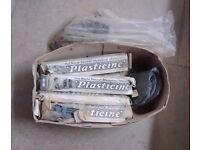Large quantity of old Plasticine