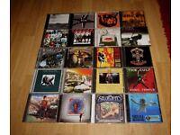 Joblot/bundle of 20 rock CDS (Rush, Zeppelin, Van Halen etc).